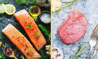 Atún y Salmón: Estas Son Las Diferencias Nutricionales