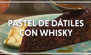 Prepara Un Delicioso Pastel De Dátiles Con Whisky