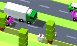 Juego: Ayuda a Este Simpático Pollo a Cruzar La Carretera
