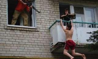 Escenas Que Solo Verás en Rusia…