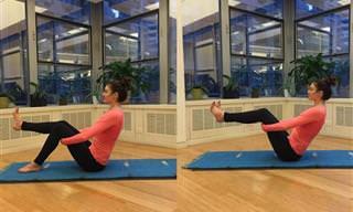 6 Estiramientos De Yoga Para Aliviar La Hinchazón