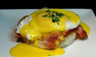 Receta: Gastronomía Inglesa Con Los Huevos Benedict