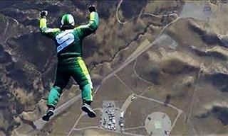 Video: Un Hombre Salta Sin Paracaidas Desde 7.600 metros