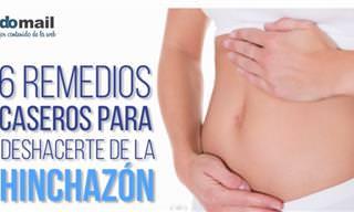6 Remedios Caseros Para Deshacerse De La Hinchazón