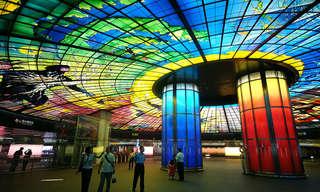 ¡Las Estaciones De Metro Más Hermosas!