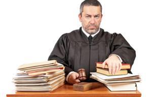 Chiste: Un Mal Día Para Ser Juez