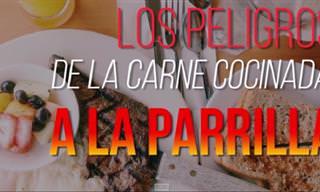 ¿Eres Consciente Del Peligro De La Carne a La Parrilla?