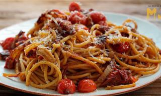 Receta Tradicional Romana: Pasta a La Amatriciana