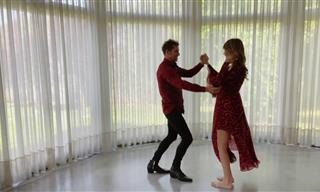 David Bisbal Bailando Salsa Con Su Mujer