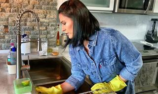 Cómo Lavar Tu Fregadero Para Dejarlo Como Nuevo