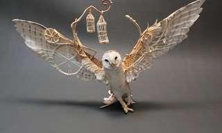 Las Esculturas De Fantasía De Ellen Jewett