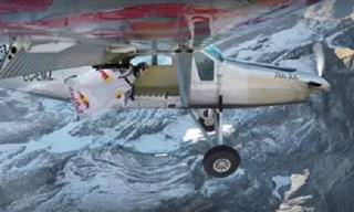 Deportes Extremos: Logran Aterrizar En Un Avión En Movimiento