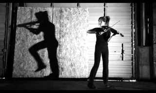 El Violín y El Baile Se Fusionan En Este Creativo Video…