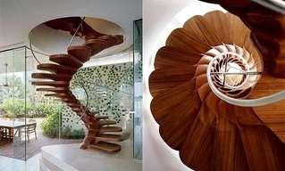 Estas Escaleras Son Muy Raras, Pero Interesantes...
