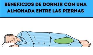 Los Beneficios De Dormir Con Una Con Una Almohada Entre Las Piernas