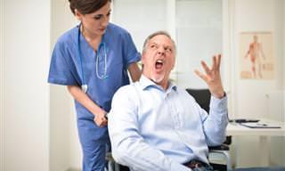 Chiste: Un Paciente Enojado