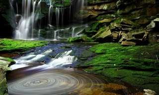 Las Sorprendentes Aguas De La Cascada Elakala