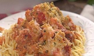 Deliciosa Cazuela De Pollo Parmesano