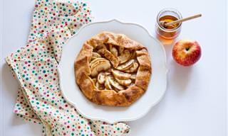 Receta Imperdible: Deliciosas Canastas De Manzana