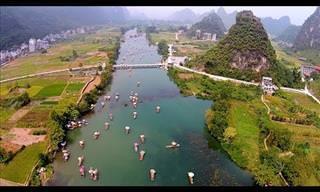 Los Mejores Lugares De China Vistos Desde El Aire