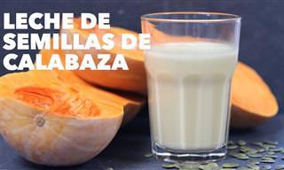 Bebida Vegetal De Semillas De Calabaza
