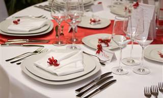 Aprende a Preparar Una Bonita Mesa Para Estas Navidades