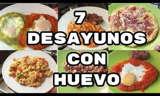 Te Presentamos 7 Recetas Fáciles De Desayuno Con Huevos