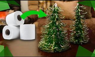 Cómo Hacer Pinos De Navidad Con Cartón Papel Higiénico