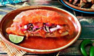 Prepara Tortas Ahogadas Al Estilo Jalisco