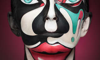 Maquillaje Artístico En Tres Dimensiones