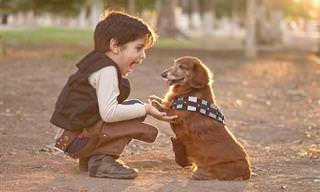 11 Razones Para Criar a Tus Hijos Con Un Perro En Casa