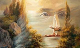 15 Increíble Ilusiones Ópticas En Forma De Retratos