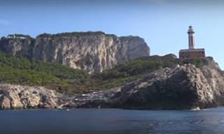 Descubre La Isla De Capri En Este Espectacular Video