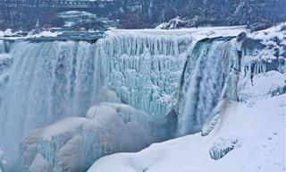 La Ola De Frío Que Congeló Las Cataratas Del Niágara