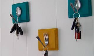 17 Ideas Originales De Bricolaje Para Tus Herramientas De Cocina