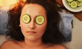 8 Remedios Naturales Con Pepinos Para La Piel y El Cabello