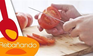 Aprende a Cortar Tomate Como Un Chef