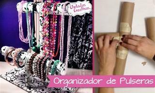 Recicla y Crea Tu Portador De Pulseras, Relojes y Collares