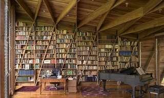 24 Majestuosas Bibliotecas Particulares