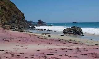 ¡5 Hermosas Playas Se Visten De Colores!