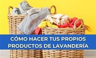 7 Ideas Para Hacer Tus Propios Productos De Lavandería