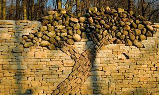 Este Árbol De Piedra Cuenta Una Historia De Amor y Devoción