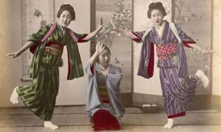 Fotos a Color De Japón Del Siglo XIX