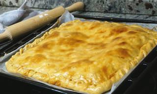 Prepara Una Empanada de Pollo Con Masa Casera Muy Fácil