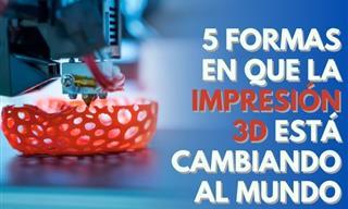 Así Es Como La Impresión 3D Está Revolucionando Al Mundo