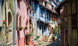 La Belleza Especial De Alsacia, Francia