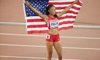 Allyson Félix La Atleta Que Rompió El Record De Usain Bolt