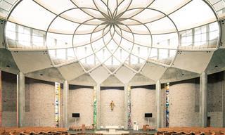 ¡15 Hermosos Diseños Interiores De Iglesias Que Te Harán Decir Amén!