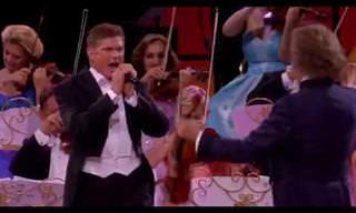 ¡David Hasselhoff También Sabe Cantar y Con André Rieu!