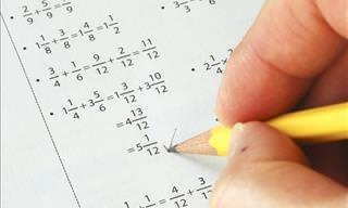 Test De Matemáticas: Todo Se Trata De Las Fracciones